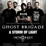 Ghost Brigade, A Storm Of Light, Intronaut - Hamburg, Hafenklang - 1