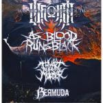 War From A Harlots Mouth, As Blood Runs Black, Thy Art Is Murder - Hamburg, Hafenklang - 1
