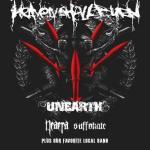 Heaven Shall Burn, Unearth, Neaera, Suffokate - Hamburg, Markthalle - 1