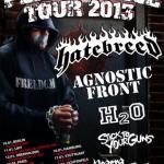 Hatebreed, Agnostic Front, H2O, Stick To Your Guns, Neaera, The Acacia Strain, Olde York – Hamburg, Docks - 1
