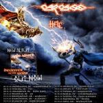 Amon Amarth, Carcass, Hell - Hamburg, Docks - 1