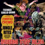 Teenage Giallo Grind (Re-Release) - Cover