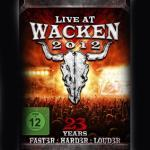 Live At Wacken 2012   (3-DVD) - Cover