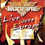 Live Over Europe - Cover