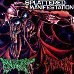 Splattered Manifestation Split - Cover