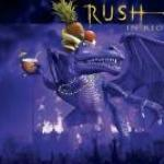Rush In Rio - Cover