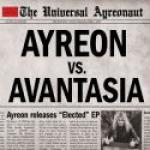 Ayreon vs. Avantasia Elected (EP)  - Cover