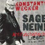 Cover - Sage Nein! (Antifaschistische Lieder: 1978 bis heute)