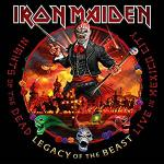 Cover - Nights Of The Dead - Legacy Of The Beast, Live In Mexico City