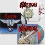 Cover - SAXON, WHEELS OF STEEL, STRONG ARM...(Re-Release)