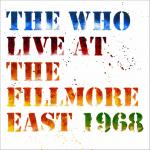 Cover - Live At The Fillmore East 1968