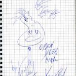 Zeichnung von Kris Vlad