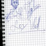 Zeichnung von Lex Vlad